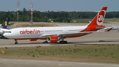 D-ALPG - Airbus A330-223 - Air Berlin (LTU)