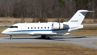 N529GP - Bombardier CL-600-2B16 Challenger 604 - Private