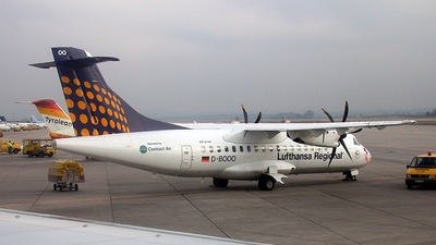 D-BOOO - ATR 42-500 - Lufthansa Regional (Contact Air)