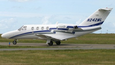 N242ML - Cessna 525 CitationJet 1 - Private
