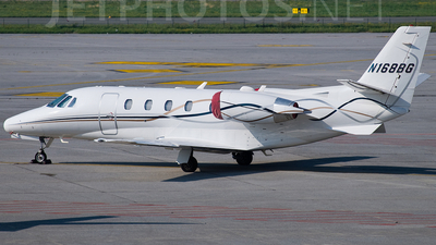 A picture of N168BG - Cessna 560 Citation Ultra - [5600301] - © roberto