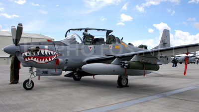 FAC3116 - Embraer A-29B Super Tucano - Colombia - Air Force