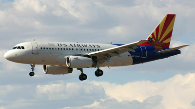 N826AW - Airbus A319-132 - US Airways (America West Airlines)