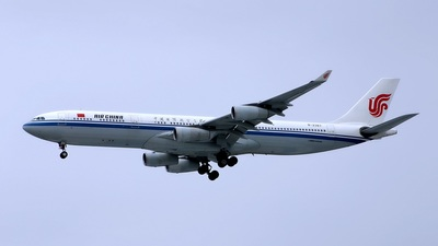 B-2387 - Airbus A340-313X - Air China