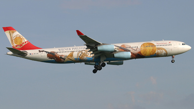OE-LAL - Airbus A340-313X - Austrian Airlines