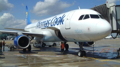 G-CVYG - Airbus A320-231 - Thomas Cook Airlines