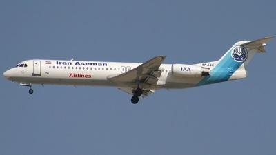 EP-ASK - Fokker 100 - Iran Aseman Airlines