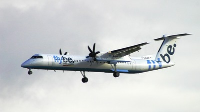 G-JEDM - Bombardier Dash 8-Q402 - Flybe