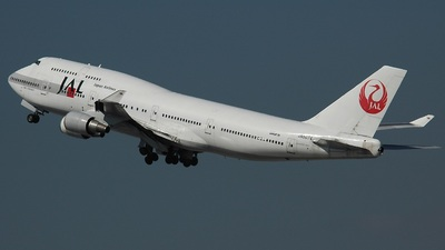 JA8074 - Boeing 747-446 - Japan Airlines (JAL)