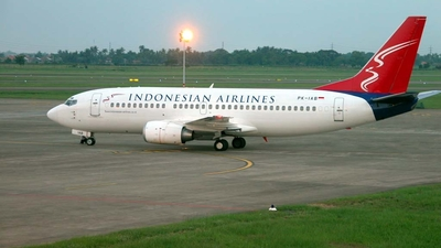 PK-IAB - Boeing 737-330 - Indonesian Airlines