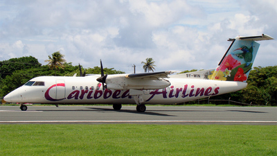 9Y-WIN - Bombardier Dash 8-311 - Caribbean Airlines