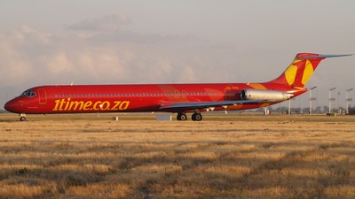 ZS-TRD - McDonnell Douglas MD-82 - 1Time Airline