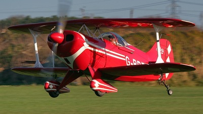 G-BRZX - Pitts S-1S Special - Private