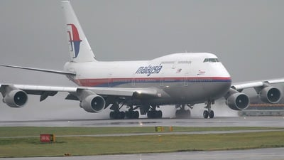 9M-MPI - Boeing 747-4H6 - Malaysia Airlines