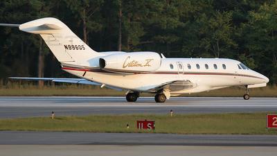 N996QS - Cessna 750 Citation X - NetJets Aviation