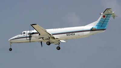 A picture of N154GA - Beech 1900C - Alpine Air Express - © Daniel Piotrowski