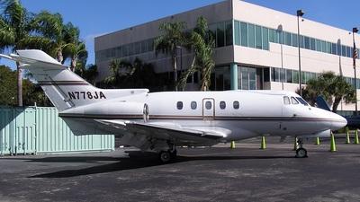 A picture of N778JA - British Aerospace 125400A - [NA778] - © Tomás Cubero Maingot - SJO Spotter