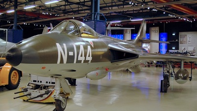 N-144 - Hawker Hunter F.4 - Netherlands - Royal Air Force
