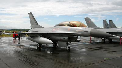 ET-199 - General Dynamics F-16BM Fighting Falcon - Denmark - Air Force