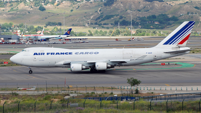 F-GIUD - Boeing 747-428ERF - Air France Cargo