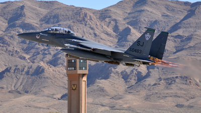 89-0483 - McDonnell Douglas F-15E Strike Eagle - United States - US Air Force (USAF)