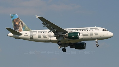 N931FR - Airbus A319-111 - Frontier Airlines