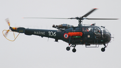106 - Aérospatiale SA 319B Alouette III - France - Navy