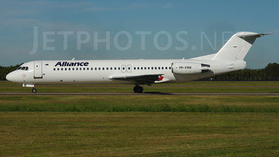 VH-XWM - Fokker 100 - Alliance Airlines