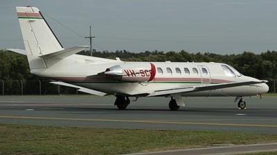A picture of VHSCC - Cessna 550 Citation Bravo - [5501058] - © Simon Coates