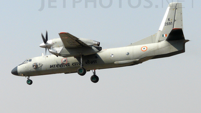 K2691 - Antonov An-32B - India - Air Force