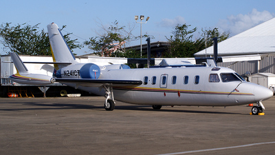 A picture of N241CT - IAI 1124A Westwind - [355] - © carlos javier