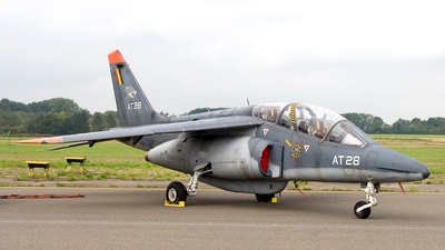 AT-28 - Dassault-Dornier Alpha Jet 1B+ - Belgium - Air Force
