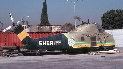 N64CH - Sikorsky S-58 - United States - Los Angeles County Sheriff