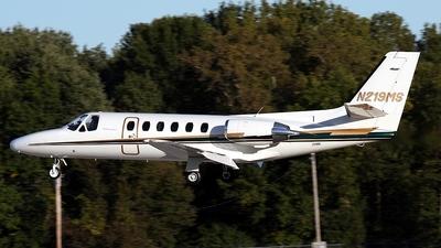 A picture of N219MS - Cessna 550 Citation II - [5500180] - © Scott Kerhaert