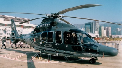 B-HRY - Eurocopter EC 155B1 Dauphin - Hong Kong - Government Flying Service (GFS)
