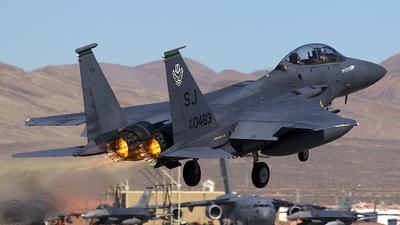 89-0483 - McDonnell Douglas F-15E Strike Eagle - United States - US Air Force (USAF)