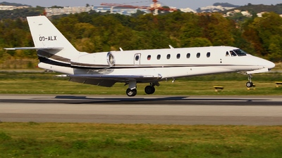 OO-ALX - Cessna 680 Citation Sovereign - Flying Service