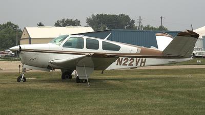 A picture of N22VH - Beech V35B Bonanza - [D9458] - © Paul Chandler