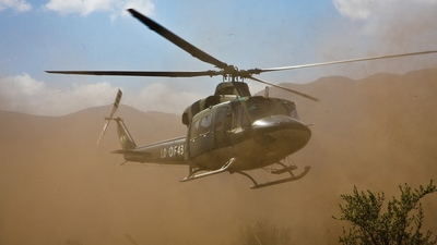 LDF-43 - Bell 412 - Lesotho - Air Force
