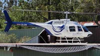 VH-COW - Bell 206B JetRanger III - Private