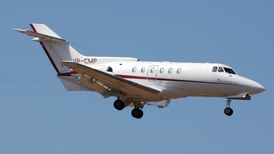 VP-CMP - Hawker Siddeley HS-125-700B - Private