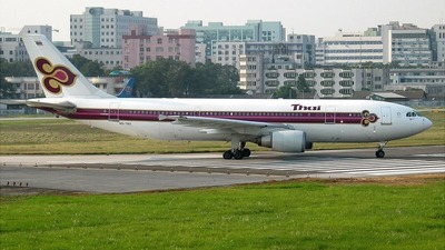 HS-TAD - Airbus A300B4-601 - Thai Airways International