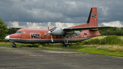 D-AELI - Fokker F27-600 Friendship - WDL Aviation