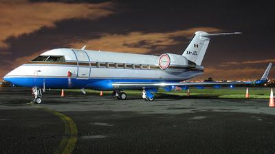 XA-JZL - Bombardier CL-600-2B16 Challenger 601-3R - Servicios Aeronauticos Zeta