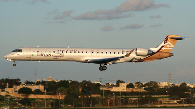 5A-LAC - Bombardier CRJ-900ER - Libyan Airlines