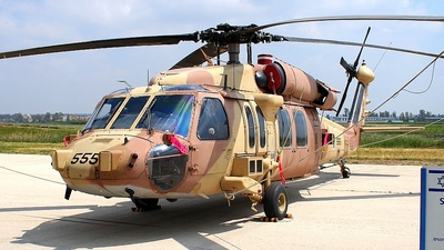 555 - Sikorsky S-70A-9 Blackhawk - Israel - Air Force