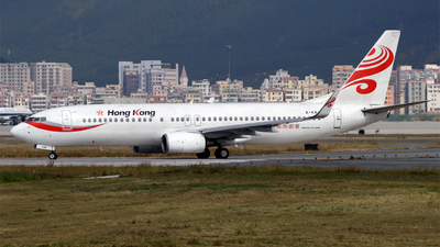 B-KBH - Boeing 737-808 - Hong Kong Airlines