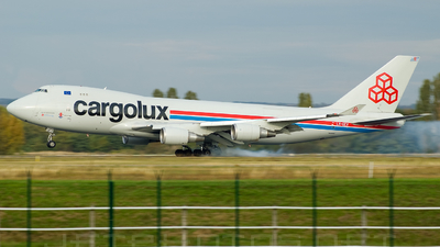 LX-GCV - Boeing 747-4R7F(SCD) - Cargolux Airlines International