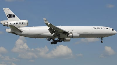 N275WA - McDonnell Douglas MD-11(F) - World Airways Cargo