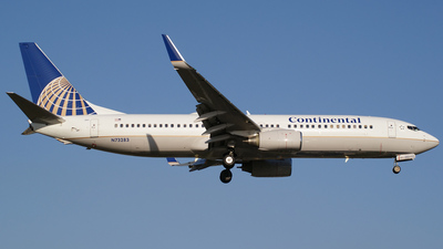 N73283 - Boeing 737-824 - Continental Airlines